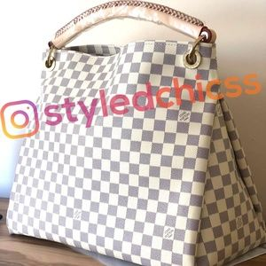 kate spade Bags - Lv artsy azur damier real leather new